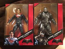 "DC Comics Multiverse Batman v Superman 12"" Armored Batman & Superman Figures"