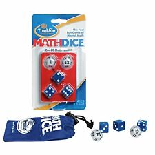 MathDice: Thinkfun Maths Fast Fun Dice Game Mental Arithmetic Game -Ages 8+