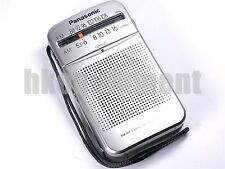 Panasonic RF-P50 AM FM Portable Pocket Speaker Radio Silver