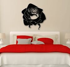 Wall Stickers Vinyl Decal Rose Beautiful Flower Great Bedroom Decor (ig1722)