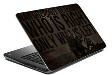 meSleep Quotes Laptop Decal- Laptop Skin- Size-14.1 -15.6 inch-LS-83-113