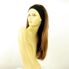headband wig woman long blond copper wick clear ref: NIKITA 6bt27b