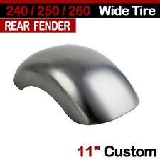 "240/250/260 Wide Tire 11"" Custom Rear Fender For Harley Softail Chopper Bobber"