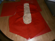 "1880s Royal Field Artillery  Red  Mess Dress Waistcoat Size 34-36""  by Hawkes"