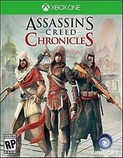 NEW Sealed - ASSASSIN'S CREED CHRONICALS TRILOGY - XBOX ONE - 1st Class Shipping