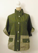 NWT Armani Exchange Green Coat Women Sz S/P