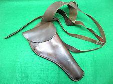 Vintage H.H. Heiser 184 Colt Officers Model Revolver Shoulder Holster