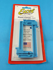 "Excel 3.5"" Plastic Clamps 2 Pack For Craft & Hobby Building"