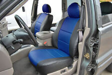 JEEP GRAND CHEROKEE 1993-1998 IGGEE S.LEATHER CUSTOM FIT SEAT COVER 13COLORS