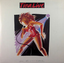 "2 x 12"" LP - Tina Turner - Tina Live In Europe - k1800 - washed & cleaned"
