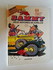 BD SAMMY  BERCK ET CAUVIN TOME 11 DEUX HISTOIRES DE  GORILLES 1986