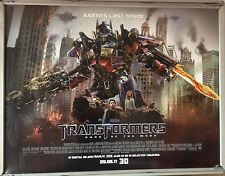 Cinema Poster: TRANSFORMERS DARK OF THE MOON 2011 (Main Quad) Shia LaBeouf