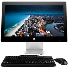 "HP 23"" All-in-One Desktop Computer Windows 10 PC Intel Quad Core i5 8GB RAM WiFi"