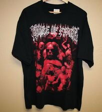 vtg 1999 CRADLE OF FILTH blue grape FROM THE CRADLE TO ENSLAVE t-shirt mens XL