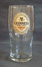 NEW GUINNESS EXTRA STOUT TRADITIONALLY BREWED PUB BAR HOME PINT COLLECTORS GLASS