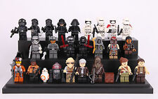 24 Sets Minifigure Star Wars Clone Trooper Darth Vader Fit Lego Toys Blocks Gift
