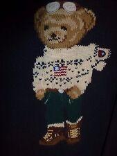 "Vintage Polo Sport by Ralph Lauren ""Winter  Bear"" Sweater, Size Large"