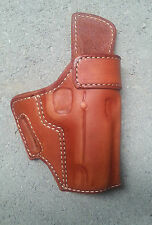 "Kimber 1911 4"" Barrel, TAN Leather Holster Rt. Hand Foward CANT"