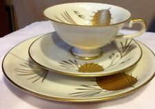 ESCHENBACH FOOTED CUP SAUCER SET Bone China BAVARIA-GERMANY*