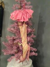 Katherine Collection Wayne Kleski Sexy Glam Pink High Heel Stocking Sparkle Girl