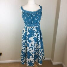 Monsoon Summer Occasion Dress Size 16. Wedding Cruise Smart Casual Evening Chic