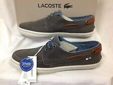 Lacoste SUMAC 7 AP Men's Boat Shoes, Size UK 7.5 / EU 41 / US 8.5