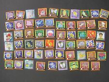 Pokemon 60 ORIGINAL STICKERS ARTBOX 1998-1999 Pikachu Squirtle Charmander