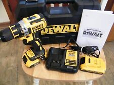 "DEWALT 20V MAX XR Li-Ion 1/2"" Brushless Compact Drill Driver Kit DCD790D2 Refurb"