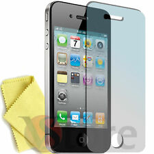 Pellicola Per iPhone 4 4S 4th Proteggi Schermo Display Apple Fronte + Panno