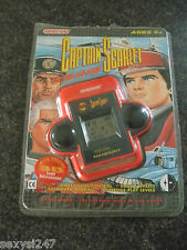 CAPTAIN SCARLET MANHUNT GRANDSTAND LCD HANDHELD GAME FROM 1992 WORKING