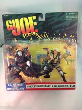 GI Joe Extreme The Ultimate Battle of Good Vs. Evil Lt. Stone Iron Klaw MOC