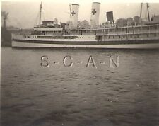 WWII German RP- German or Italian Navy- Red Cross Medical Hospital Ship- 1940s