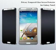 FOR SAMSUNG GALAXY NOTE 3 PRIVACY TEMPERED GLASS HD SCREEN PROTECTOR