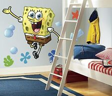 New Large SPONGEBOB SQUAREPANTS WALL DECAL Nickelodeon Stickers Bedroom Mural