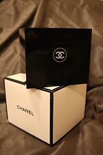 CHANEL Black Acrylic Vanity Box / Brush Holder Makeup Organizer *VIP Gift *NEW