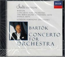 BARTOK : CONCERTO FOR ORCHESTRA, ETC. / LSO - SOLTI / CD - NEU