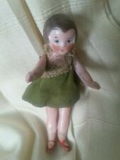 "Antique German Doll 3"" Mignonette Flapper miniature 20s Museum Collection"
