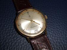 Alte Herren ⌚ ZENTRA CENTAUR Datum auf 6 Uhr 50er Vintage Watch Handaufzug HAU