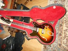 Hagstrom Viking Vintage Swede made, circa 1967with nice hard case
