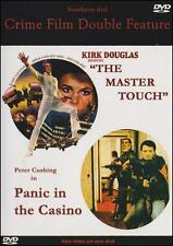 MASTER TOUCH & PANIC IN THE CASINO Double Feature DVD Kirk Douglas Peter Cushing