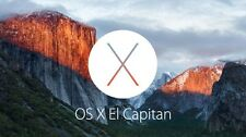Apple Mac OS X 10.11.1 El Capitan on bootable 8gb USB drive