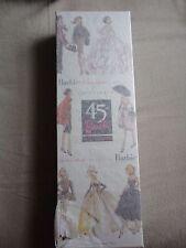 45th Anniversary Silkstone Lingerie Fashion Model Barbie Doll NRFB MIB Tissued!