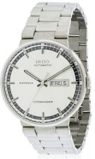 Mido Commander II Stainless Steel Automatic Mens Watch M014.430.11.031.00