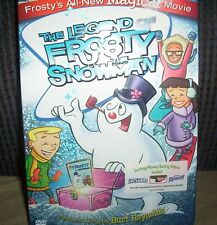 The Legend of Frosty the Snowman w/ voice of Spongebob Tom Kenny Sealed DVD