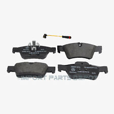 Rear Brake Pads Pad Set OEM Genuine Mercedes 1642720 + Sensor (VIN#REQUIRED)