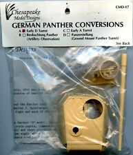 Chesapeake Model Designs 1:35 German Panther Conv. Early D Turret #CMD-17A