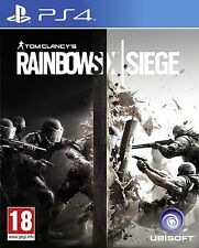 TOM CLANCY'S RAINBOW SIX SIEGE PS4 PLAYSTATION 4