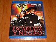 ESCARLATA Y NEGRO / The Scarlet and the Black - Bluray disc - Precintada