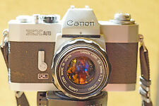 ROBUST Canon EX Auto QL 35mm Camera with 1.8  50mm Canon EX Lens COLLECTOR'