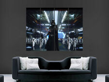 STAR WARS DARTH VADER GIANT WALL POSTER ART PICTURE PRINT LARGE HUGE !